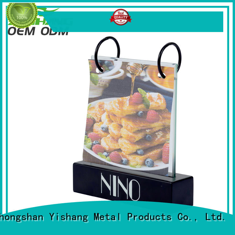 YISHANG sign holder stand fast delivery for signage companies