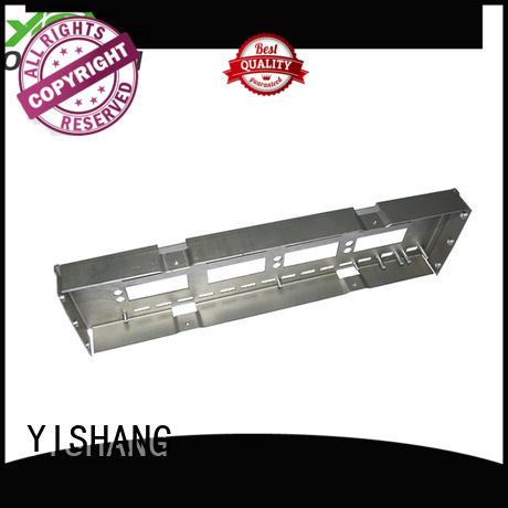 metal sheet fabrication metal parts gold YISHANG