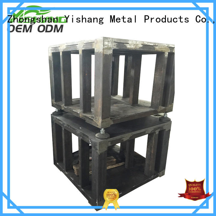 YISHANG metal case case for plaza