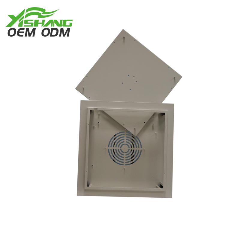 YISHANG -Aluminum Enclosure Customized Metal Fan Cooling Housing Case