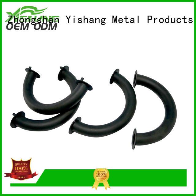 YISHANG working custom made metal parts hinges signs