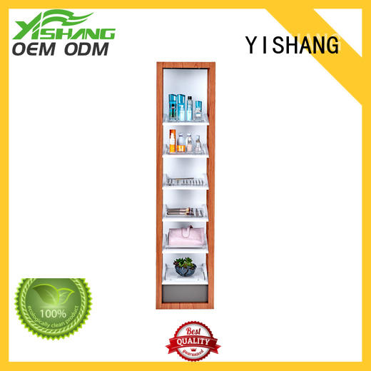 YISHANG retail makeup display stand design for supermarket