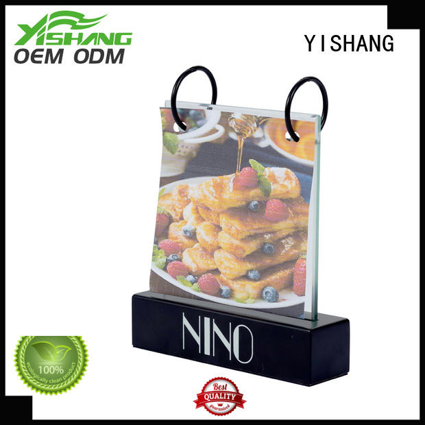 YISHANG poster stand customization service for sale