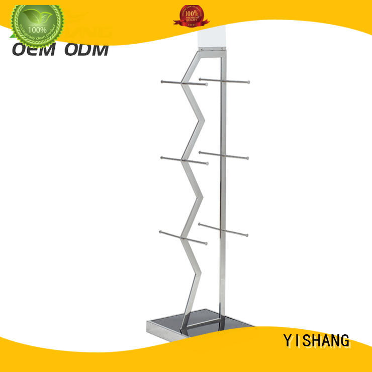 shops stand YISHANG Brand metal garment rack factory