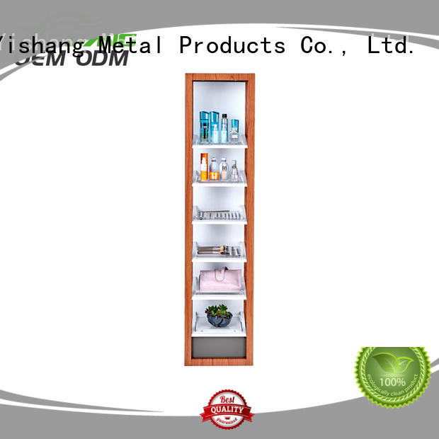 YISHANG led makeup stand rack for cosmetic stores
