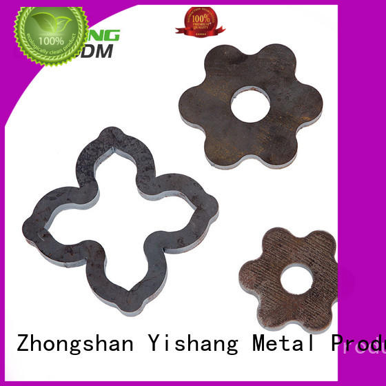 custom metal frame steel sheet fabrication YISHANG Brand metal parts