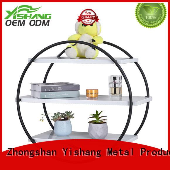 round storage home shelf YISHANG Brand wall-mounted organizer supplier