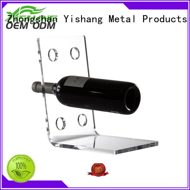YISHANG Brand rack display wine bottle wine racks for sale