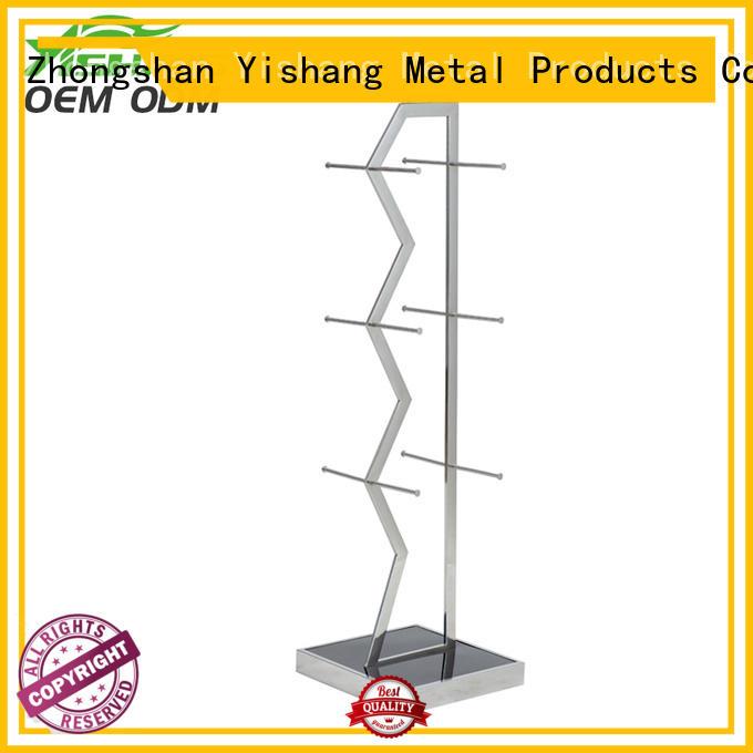 metal garment rack rack material YISHANG Brand