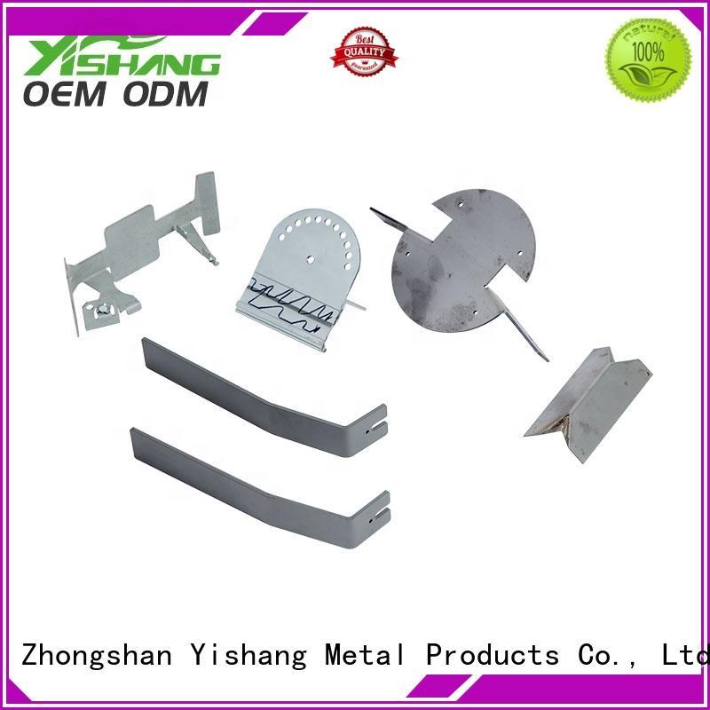 custom metal frame steel gold welding YISHANG Brand company