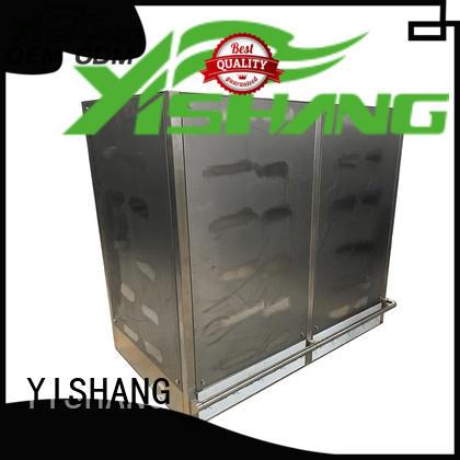 YISHANG power aluminum enclosure box for plaza