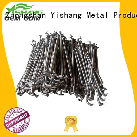 YISHANG Brand frames welding fabrication custom metal frame gold