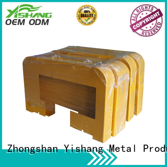 gold fabrication custom metal frame welding steel YISHANG Brand