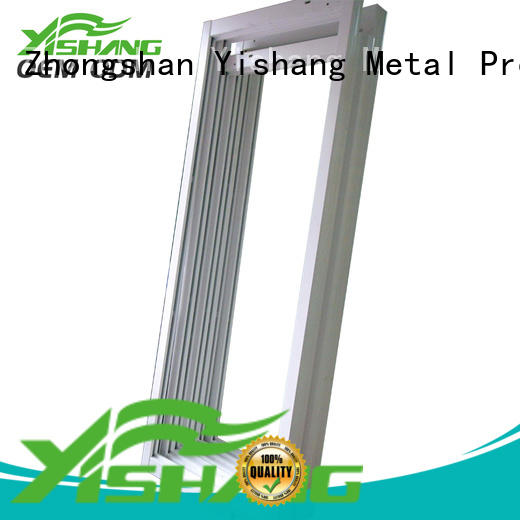 YISHANG Brand fabrication welding metal parts steel factory