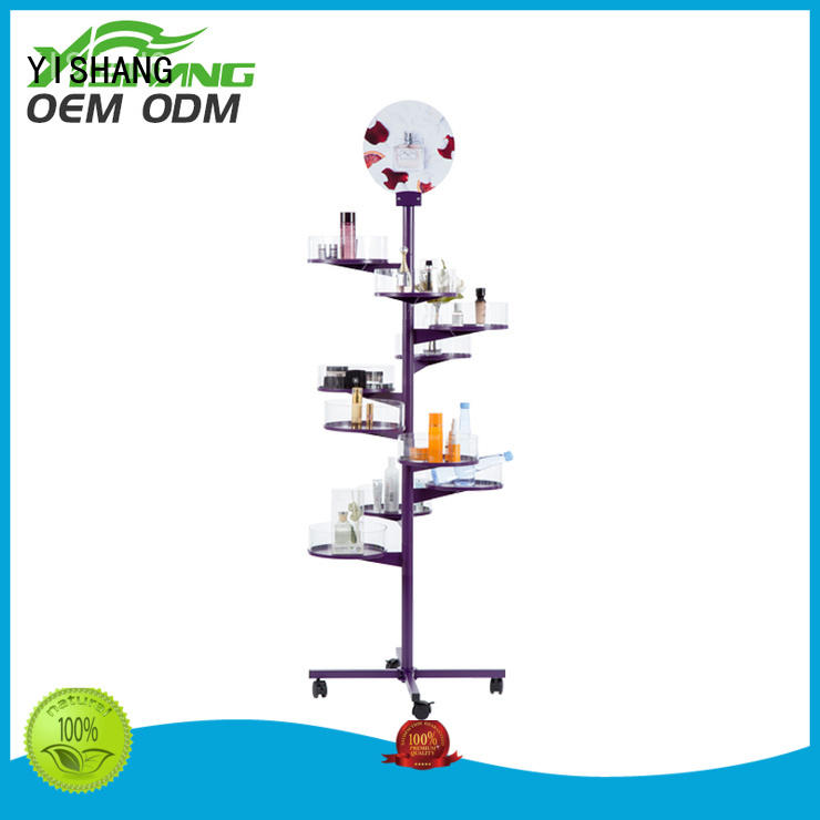 makeup display stand rack makeup makeup stand YISHANG Brand