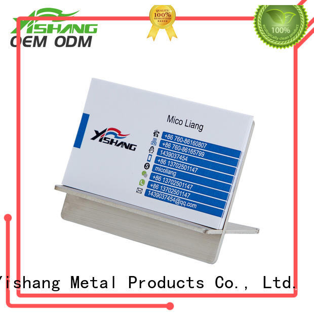 YISHANG card stand supplier for desk
