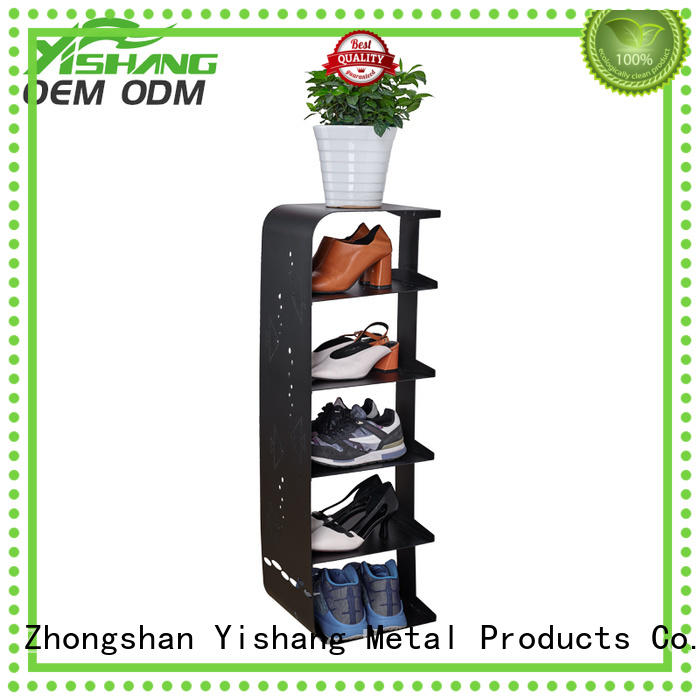 shoe store rotating YISHANG Brand shoe display rack manufacture