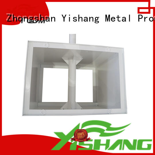 gold frames fabrication steel YISHANG Brand metal parts supplier