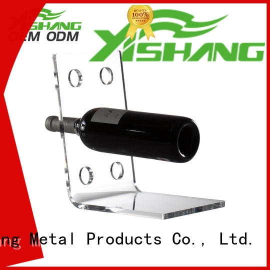 YISHANG countertop commercial wine racks tabletops for sale