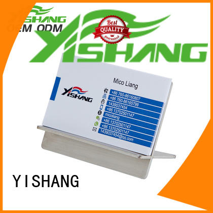 YISHANG business card stand supplier for desk