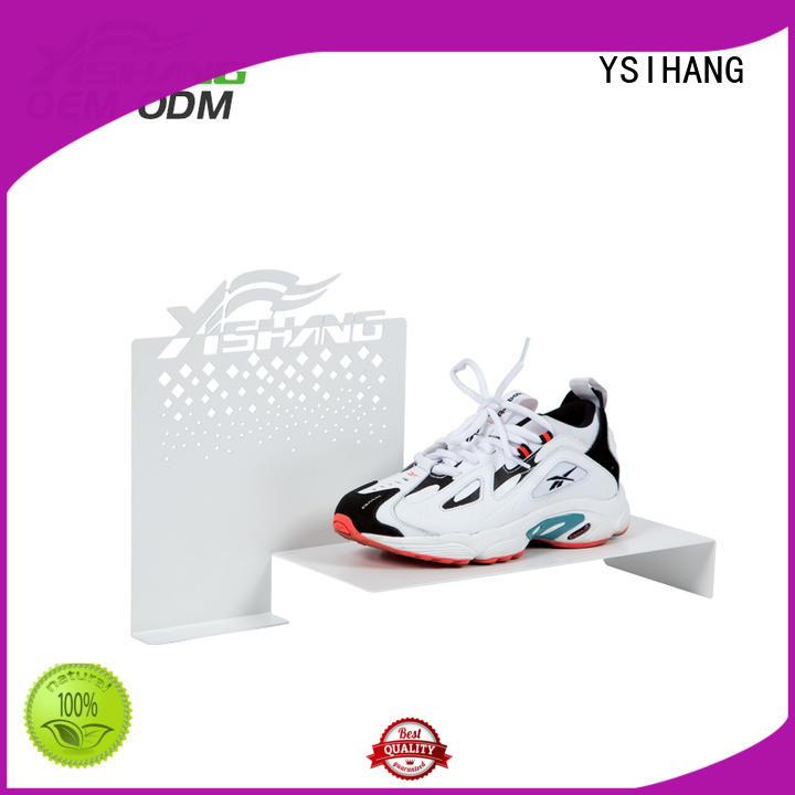 YSIHANG Brand free standing custom shoe display rack