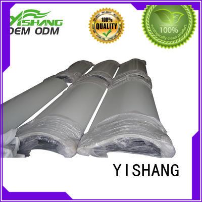 gold steel sheet metal parts YISHANG Brand