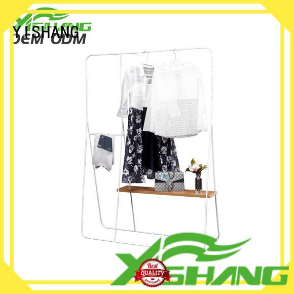 retail clothing racks high end for shopping mall YISHANG