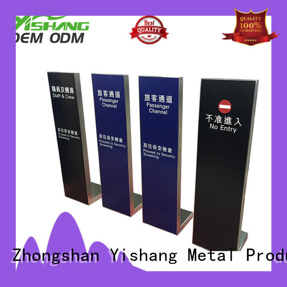 advertising sign stand customization service for sale