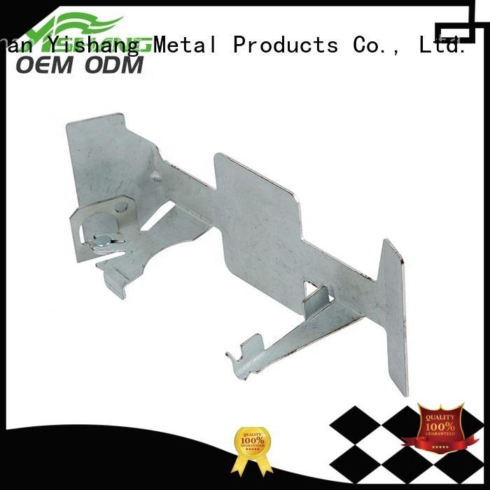 bracket aluminium parts chromeplated precision
