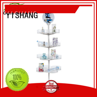 Hot rotating display stand dual YISHANG Brand
