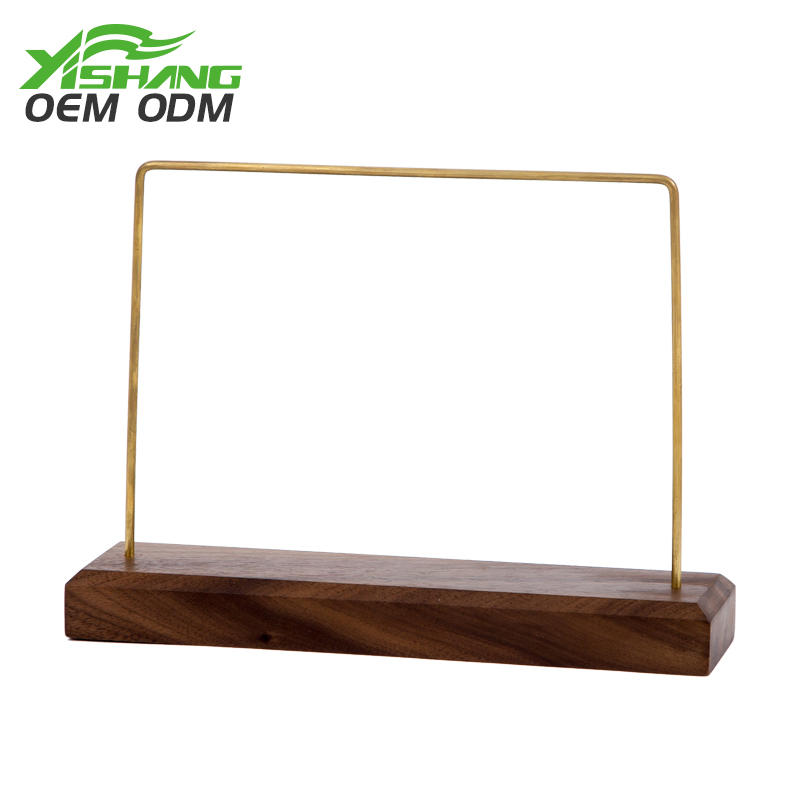 YISHANG -Best Custom Rustic Wooden Jewelry Bracelet Display Stand Jewelry Displays