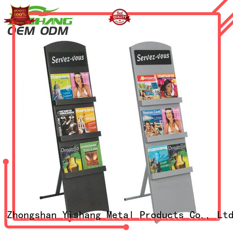 YISHANG metal metal book rack for sale