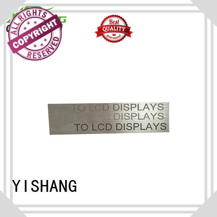 YISHANG Brand frames welding custom metal frame gold supplier