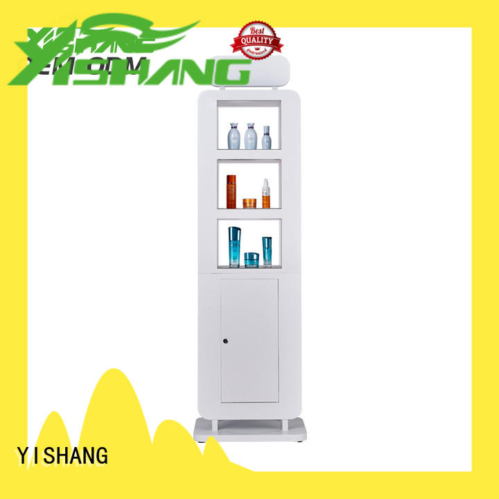 excellent cosmetics display shelves superior quality for cosmetic stores YISHANG