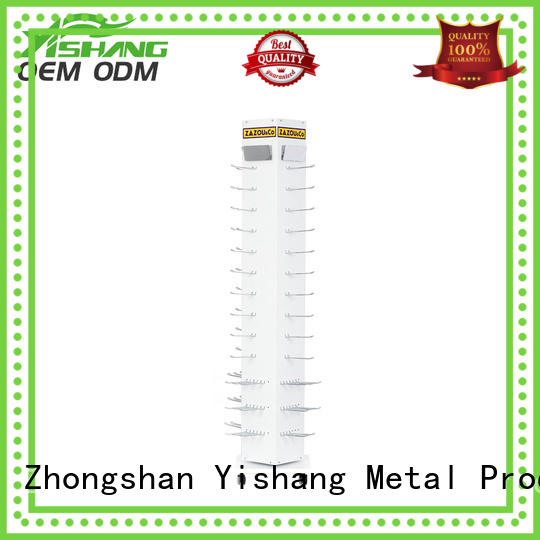 YISHANG hooks metal headset stand rack for retail stores