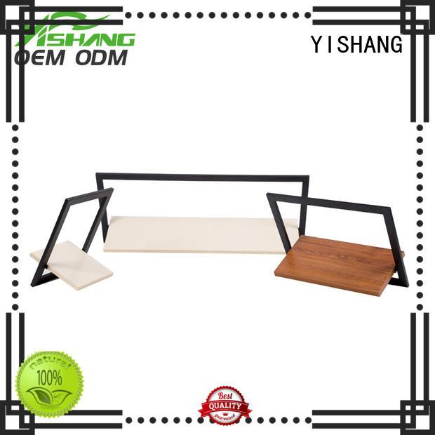 metal wall organizer shelf wall-mounted organizer YISHANG Brand
