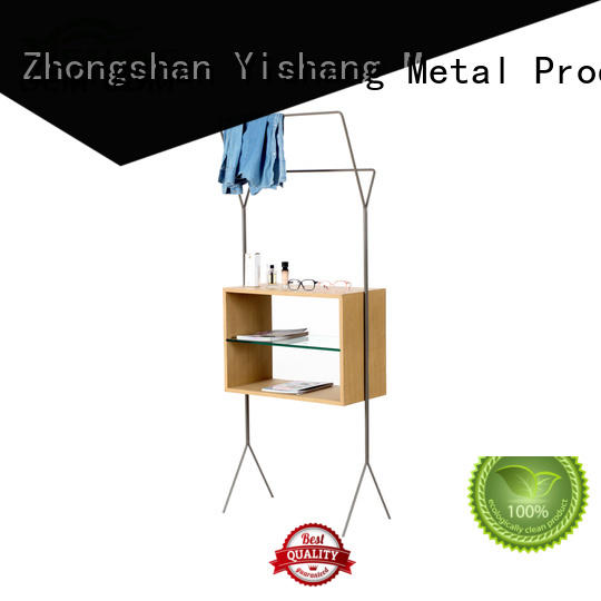 cloth clothing display racks supplier for shop