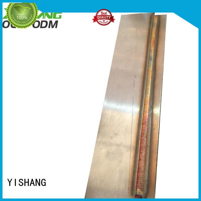 custom metal parts manufacturing services signs YISHANG