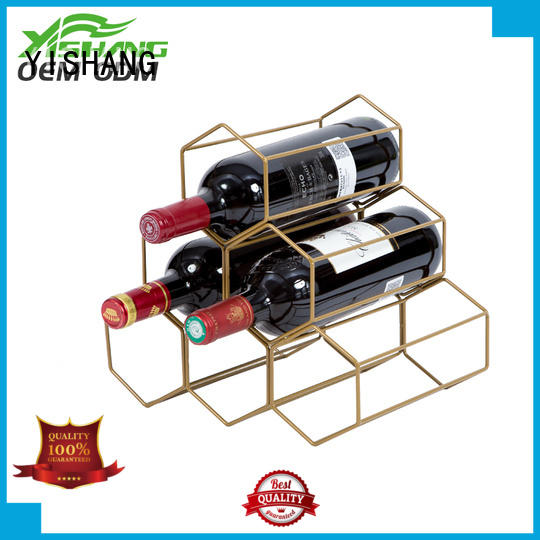 YISHANG metal wine racks powder for sale