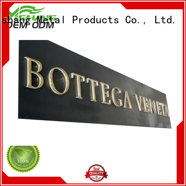 letters metal letters manufacturer for signs