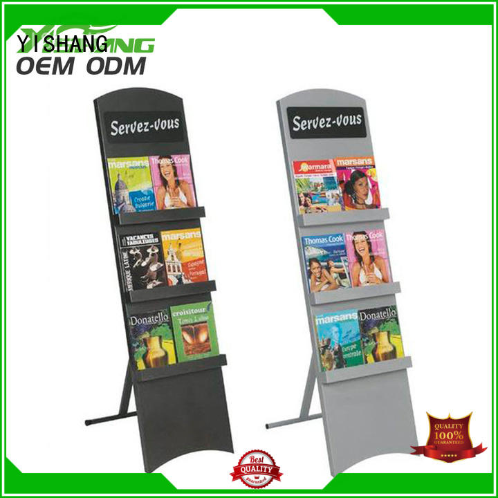 stand book display rack for library