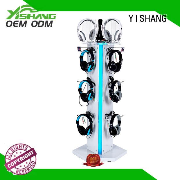 YISHANG Brand display standing product rotating display stand