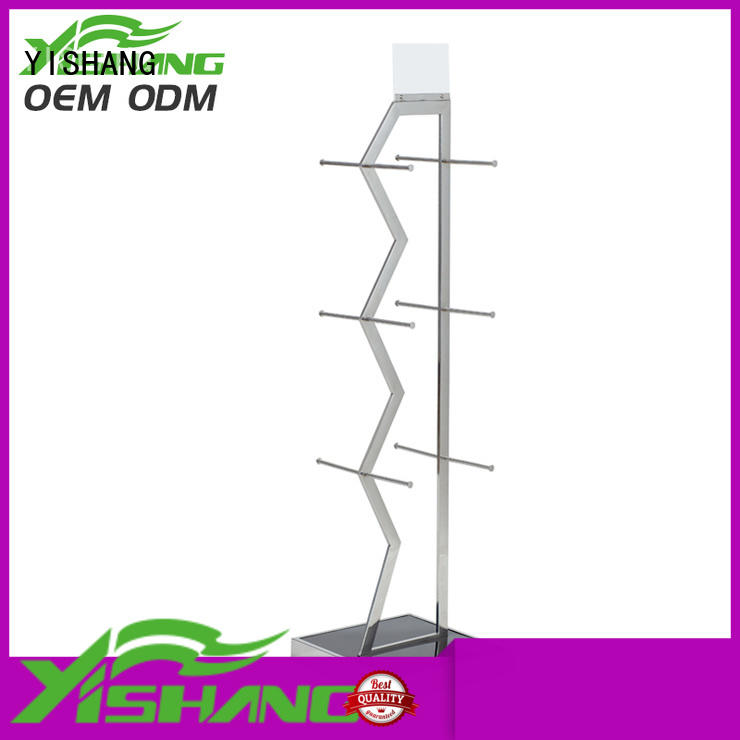 YISHANG cloth clothing racks for sale supplier for shopping mall