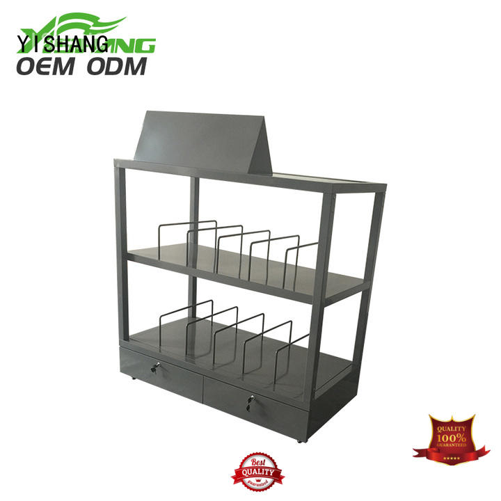 YISHANG holder store display wheels for retail stores