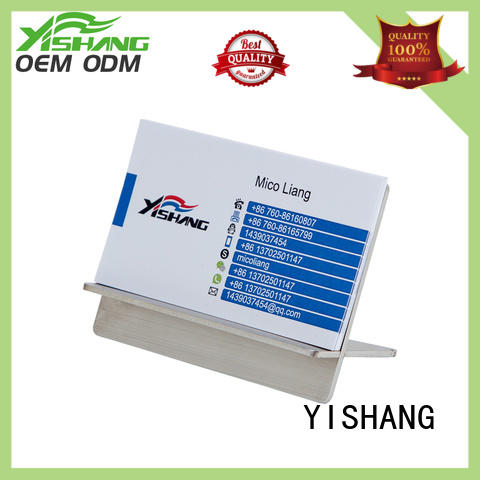 YISHANG business card display supplier for office