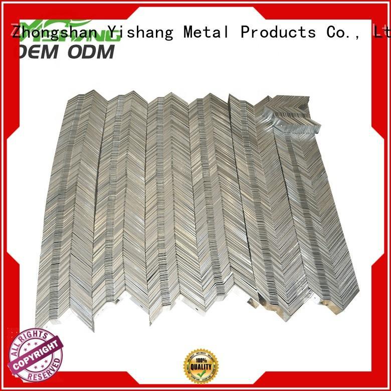 Quality YISHANG Brand custom metal frame sheet gold