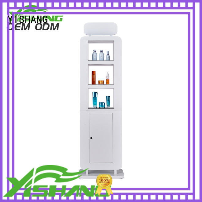 YISHANG makeup stand rack for cosmetic stores