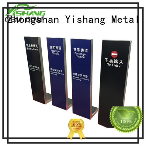 YISHANG menu poster stand customization service for sale