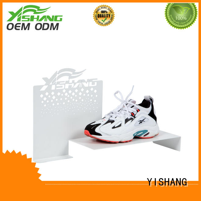 stand metal racks shoe display YISHANG Brand
